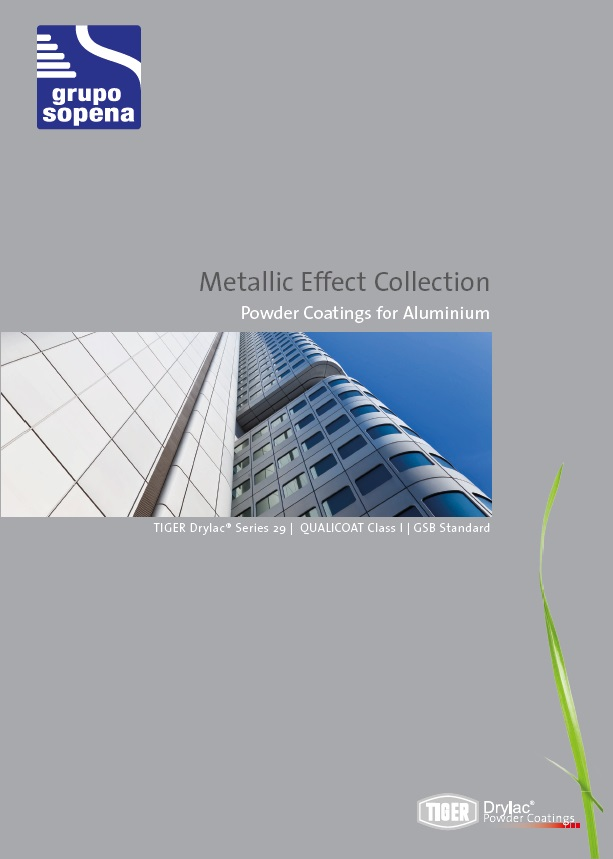 Cover catalog Metallic Effect Collection
